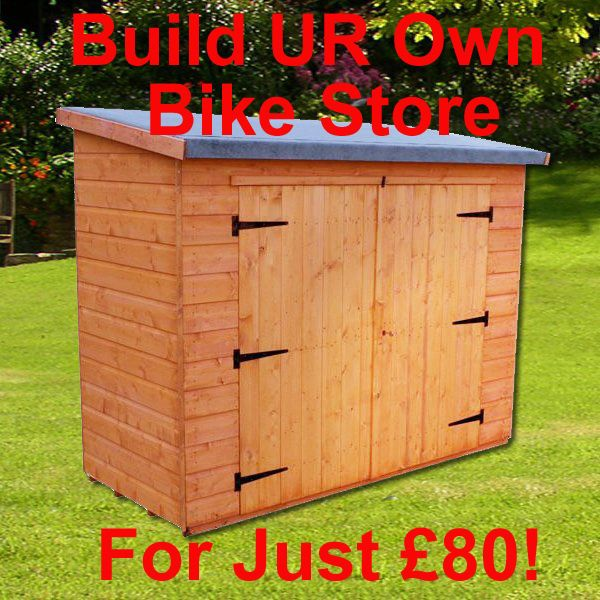 Dig How To Build A Lean To Bike Shed