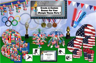 Winter Olympic Party Supplies - 2014