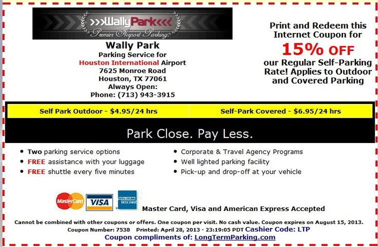 Seattle airport parking discount coupons