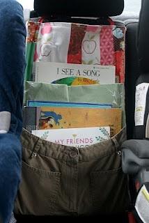 Tutorial: Car Seat Book Holder