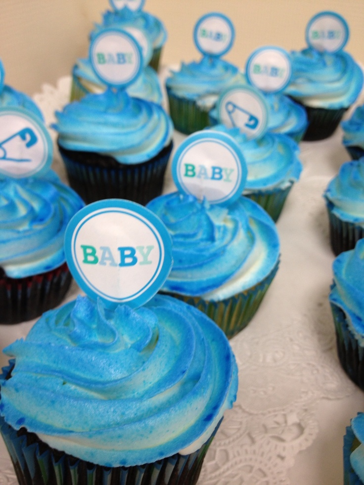 baby boy shower cupcakes baby shower ideas pinterest