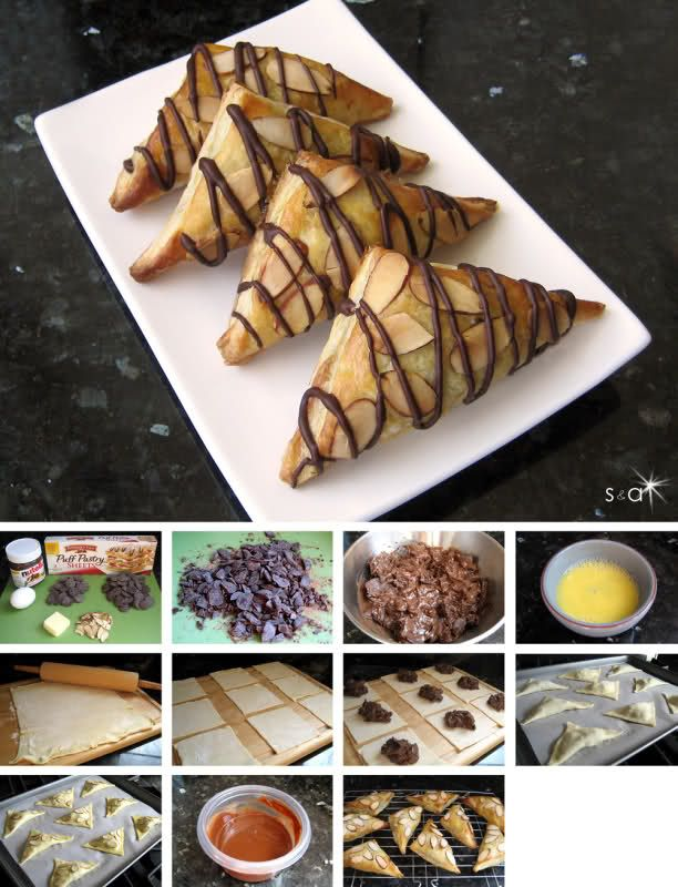 Samiwich & Addiecakes: Chocolate Nutella Turnovers