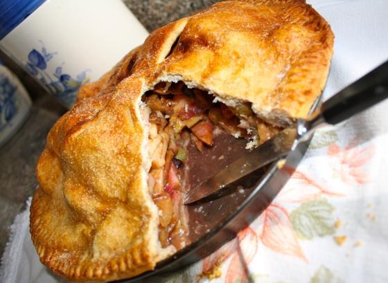 Apple and Grape Pie IMG_2206 | pie | Pinterest