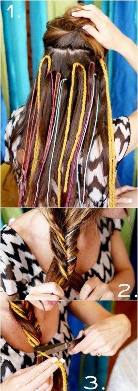 vamping up braids