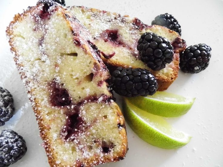 Blackberry Lime Swirl Snack Cake..can you say YUM?