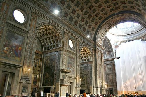Alberti and others  Sant Andrea in Mantua  interior  1462-1494Sant Andrea Alberti