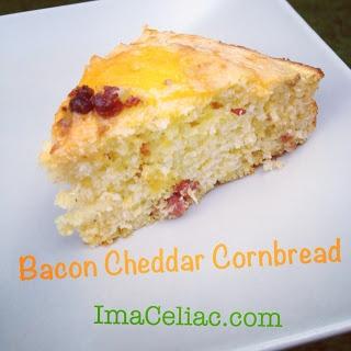 Celiac: Southern BBQ Low and Slow -- Bacon Cheddar Cornbread