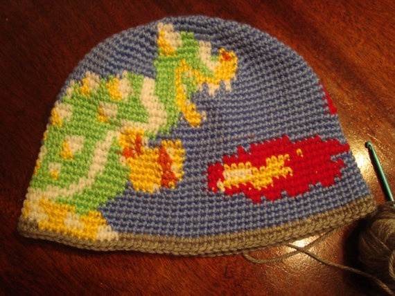 Crocheting Games : crocheted bowser hat Crochet Video Game Themed Items Pinterest