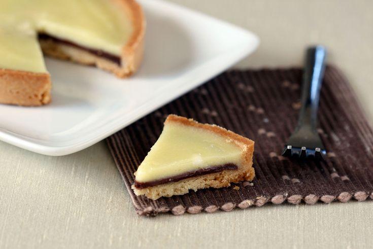 Tweaking an Old Favorite: Meyer Lemon and Chocolate Tart