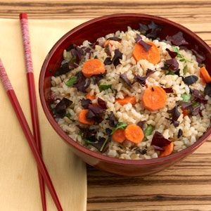 Spring Rice Salad: A rice dish that is as colorful as it is flavorful ...