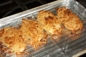 Crispy baked chicken breasts | food | Pinterest
