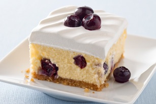 creamy lemon blueberry dessert