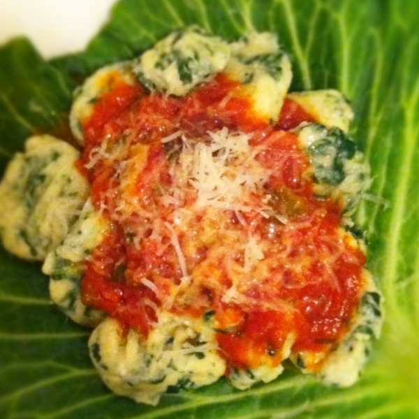spinach gnocchi | Cooking | Pinterest