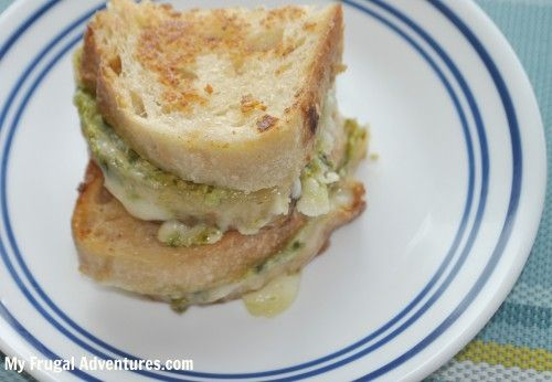 Parmesan Crusted pesto Grilled Cheese | Grilled Cheese/Panini | Pinte ...