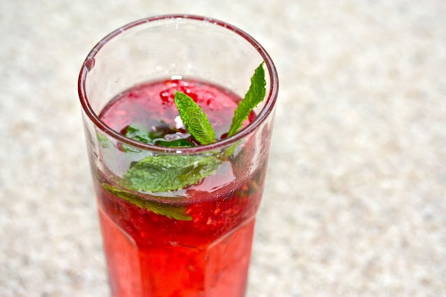 raspberry mojito | summertime | Pinterest