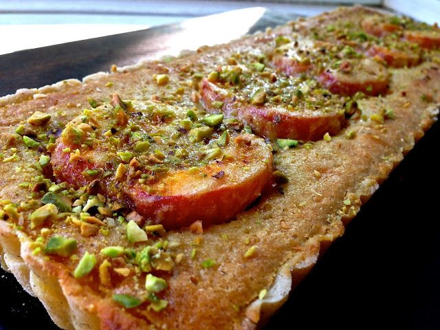Apricot Almond Tart (GF) | Pie, Tart, Galette, Crumble, Cobbler | Pin ...