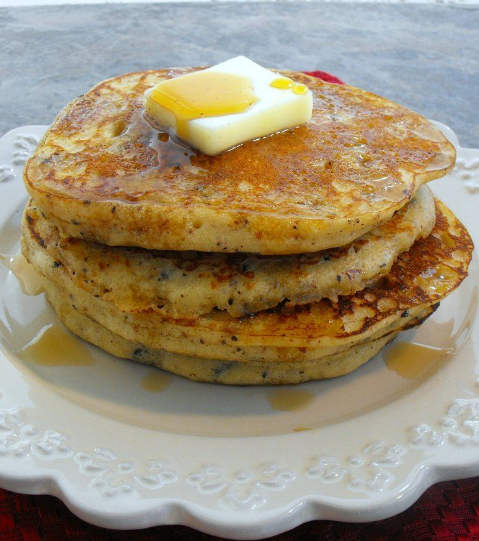 Chocolate Chunk Pancakes with gluten free and regular instructions