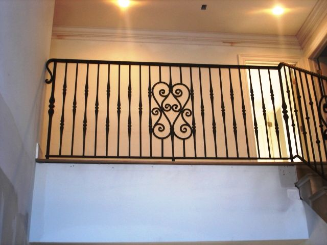 Interior Wrought Iron Balcony Railing Wrought Iron