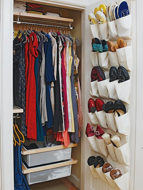 how to organize clothes