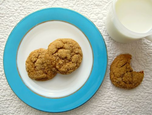 pumpkin gingersnap cookies | Food and Drinks | Pinterest