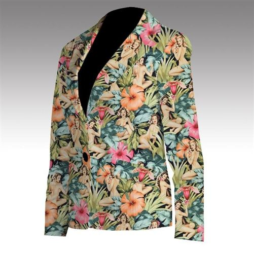 Island Girls Womens Made-To-Order Blazer by Loudmouth Golf. Buy it