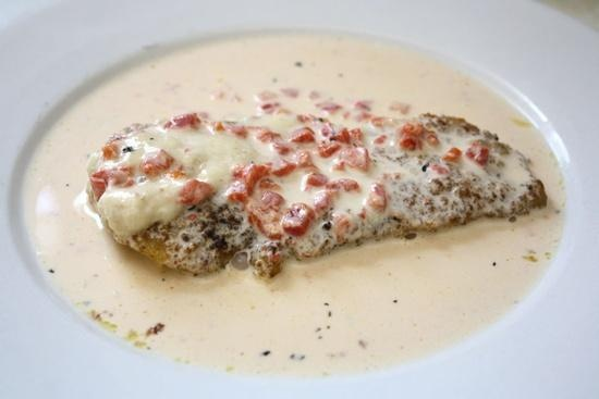 chicken in basil cream | Nosh | Pinterest