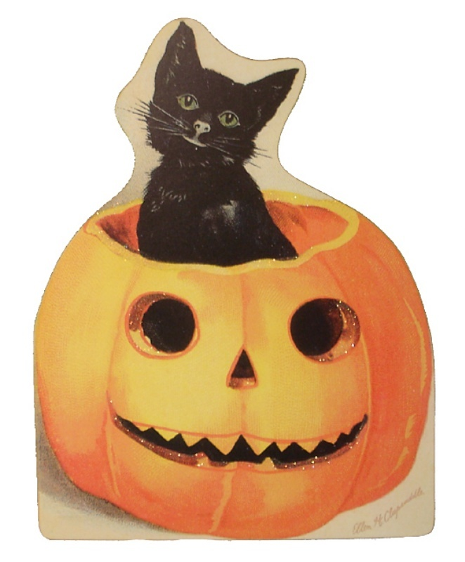 Cat in Pumpkin | Halloween cLiP ARt | Pinterest