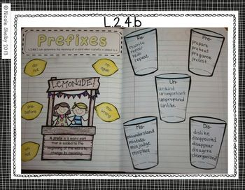 2nd Grade Language Interactive Notebook (Common Core aligned) $