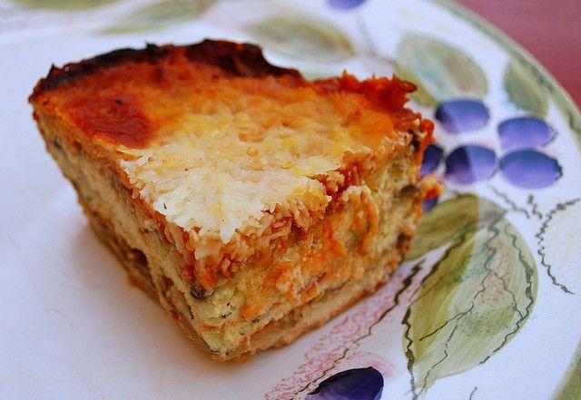 Eggplant ricotta bake slice by firefly64, via Flickr
