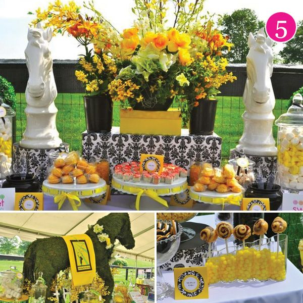 Derby party party party pinterest for Outdoor brunch decorating ideas