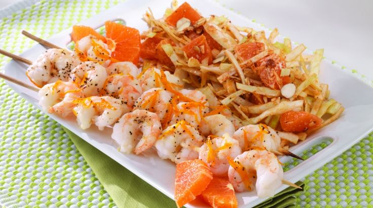 Smoked Paprika Shrimp Skewers | Seafood | Pinterest