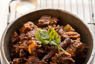 Goat Curry with Five Whole Spices