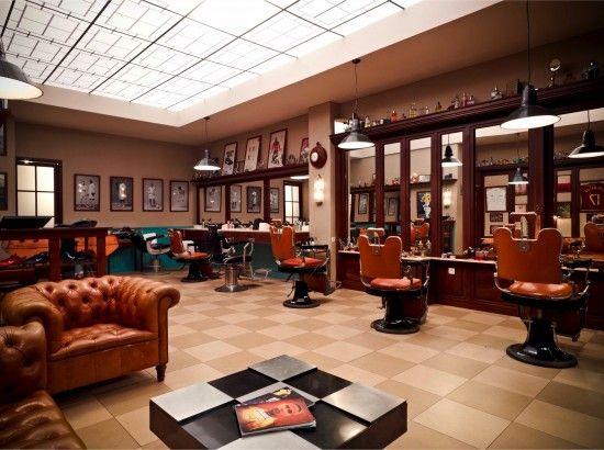 Nike Barber Shop in Paris ! | Interior Design & Architecture ...