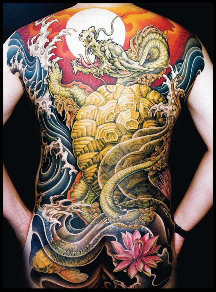 Ancient japanese tattoos