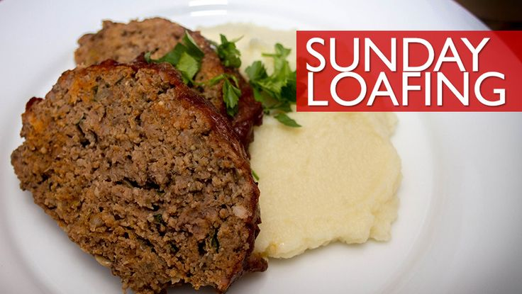 Paleo Homestyle Meatloaf topped with a quick, delicious ketchup ...