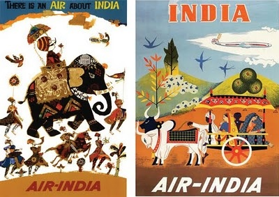 More Air India timetables | Art I like | Pinterest