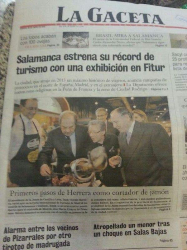 www la gaceta de salamanca es: