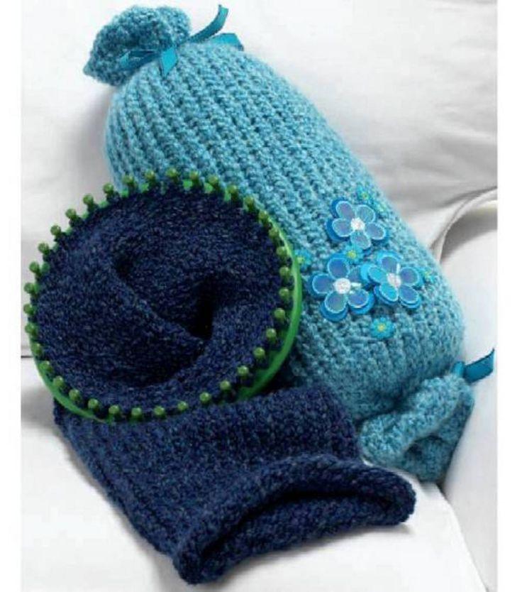 Crochet Pattern Neck Pillow : Knitted Neck Roll Pillow at Joann.com ---Crochet and ...