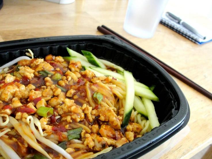 Pei Wei: Dan Dan Noodles | Chicken Chicken oh Chicken | Pinterest