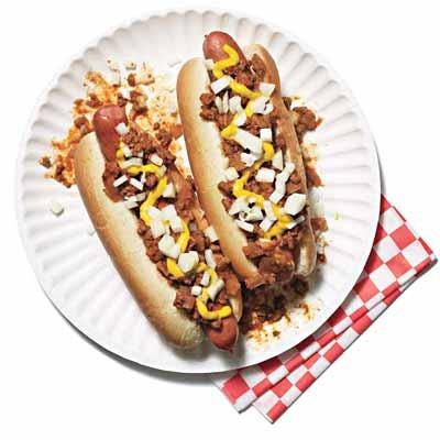 Classic Coney Island Hot Dogs | Recipe