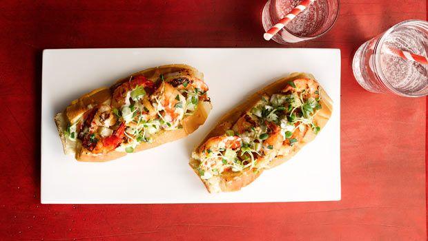 Grilled Shrimp Rolls | Dashrecipes.com | Dash Recipes | Pinterest