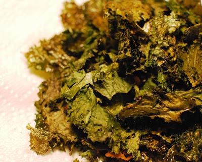 Parmesan Kale Chips | Appetizer/Snack recipes | Pinterest