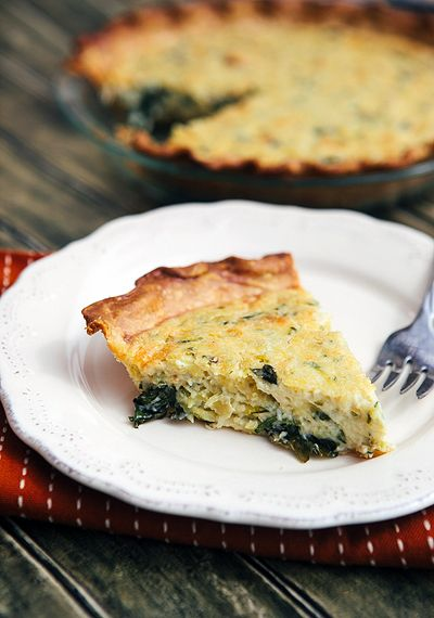Some the Wiser: Zucchini Quiche + Pioneer Woman {GIVEAWAY}