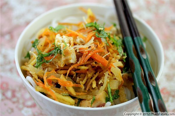 ... days. Vegetarian Vietnamese cellophane noodles (Bun Bi Chay) Recipe