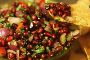 Pomegranate Salsa | Making dirty dishes from scratch | Pinterest