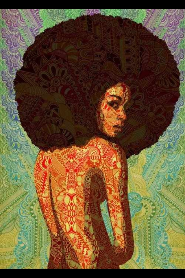 afrocentric hairspiration pinterest