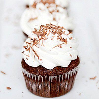 Flourless Chocolate Hazelnut Cupcakes | Gluten free ideas | Pinterest