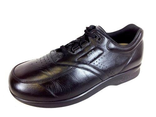 SAS Tripad Mens Time Out Black Leather Lace Up Comfort Shoe Oxford 10