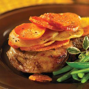Hannaford | Bake & Roast | Pork, Apple, and Sweet Potato Casserole
