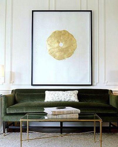 trad decor + contemp art/willow interiors
